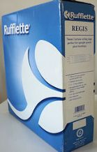 50 mt Roll of Rufflette Regis pencil pleat curtain heading pleating tape 76mm